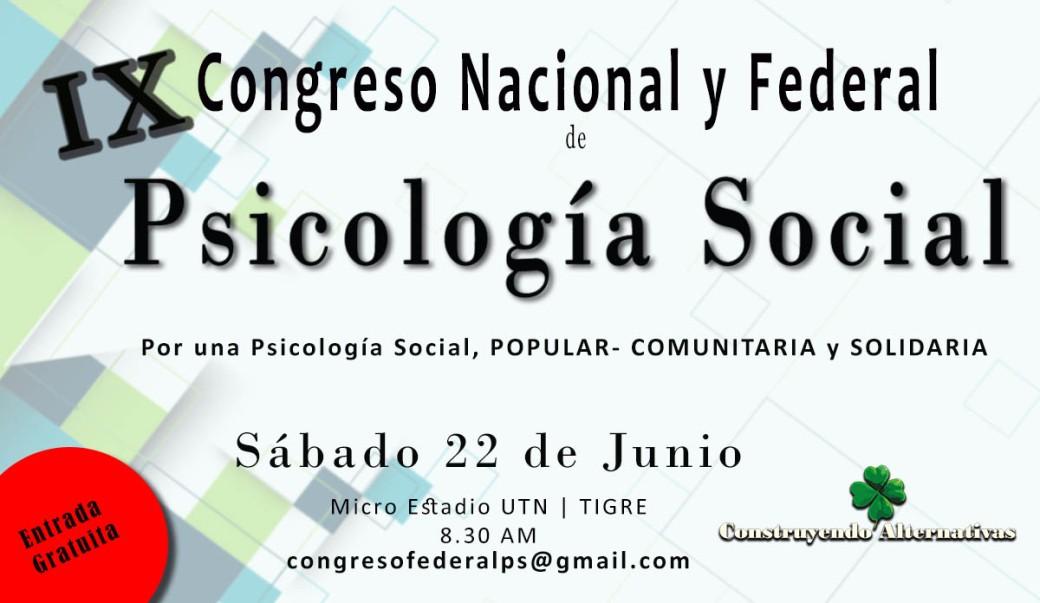 Flyer Congreso
